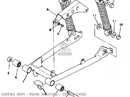 Yamaha Gt80 1978 Usa / E-009161 parts list partsmanual