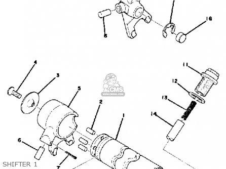 Yamaha Gt80c 1976 parts list partsmanual partsfiche