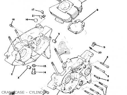 Yamaha GTMX 1978 USA parts lists and schematics