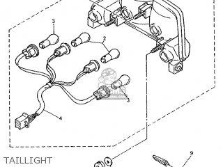 Yamaha GTS1000 1993 4BH1 EUROPE 234BH-300E1 parts lists
