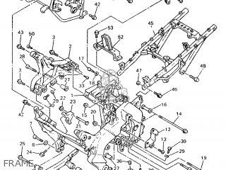 Yamaha GTS1000 1993 4FVI EUROPE 234BH-300E1 parts lists