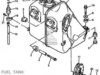 Yamaha Gts1000a 1994 4fe3 Europe 234fe-198e1 parts list