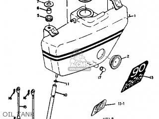 Yamaha Ht1 1970/1971 parts list partsmanual partsfiche