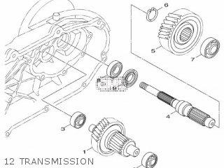 Yamaha HW125 2012 53B1 EUROPE XENTER 1L53B-300E1 parts