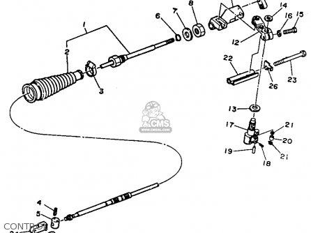Yamaha Inter/drive Unit 1989 parts list partsmanual partsfiche