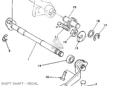 Yamaha IT125 1980 (A) USA parts lists and schematics