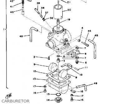 Yamaha It175 1977 Usa parts list partsmanual partsfiche