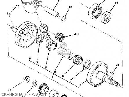Yamaha IT175 1978 USA parts lists and schematics