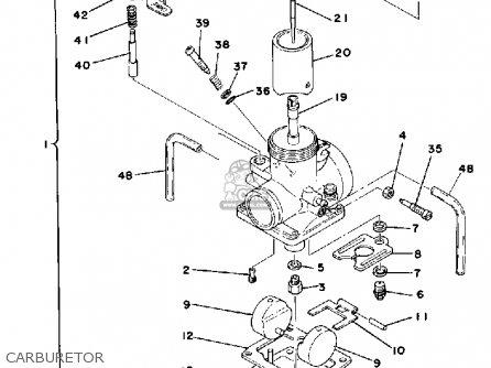 Yamaha It175 1979 Usa Canada Southafrica parts list