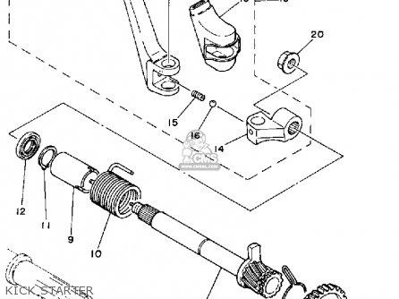 Yamaha IT175 1980 (A) USA parts lists and schematics