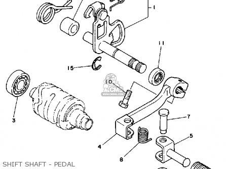 Yamaha It175 1980 (a) Usa parts list partsmanual partsfiche