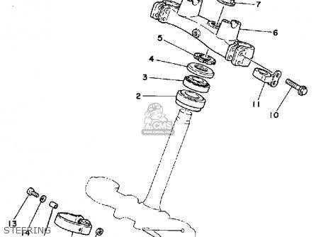 Yamaha It200 1984 (e) Usa Canada parts list partsmanual
