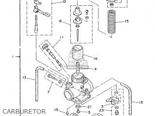 Yamaha It200 1986 1vh Europe 261vh-300e1 parts list
