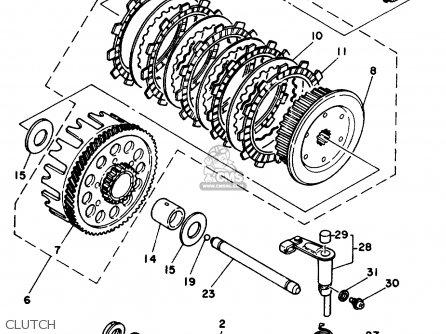 Yamaha IT250 1980 (A) USA parts lists and schematics