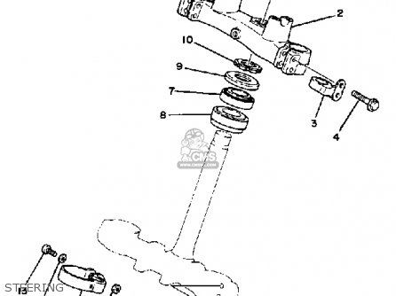 Yamaha It250 1983 (d) Usa Canada parts list partsmanual