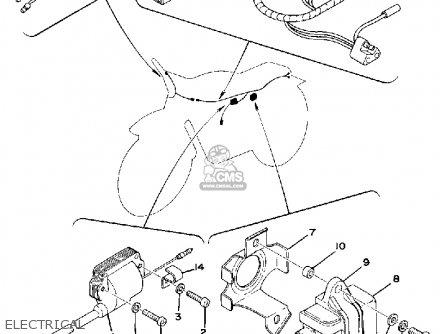 Yamaha It400 1976 Usa parts list partsmanual partsfiche