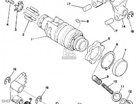 Yamaha IT400 1976 USA parts lists and schematics
