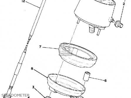 Yamaha It400 1979 Usa parts list partsmanual partsfiche
