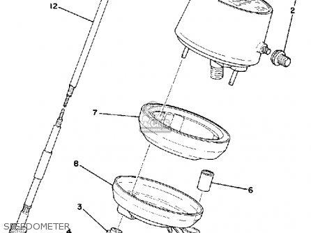 Yamaha It400e 1977/1978 parts list partsmanual partsfiche