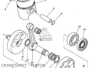 Yamaha IT425 1980 (A) USA parts lists and schematics