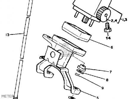 Yamaha It465 1982 (c) Usa parts list partsmanual partsfiche