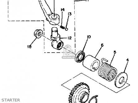 Yamaha IT465 1982 (C) USA parts lists and schematics