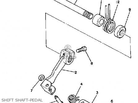 Yamaha It465h 1981 parts list partsmanual partsfiche