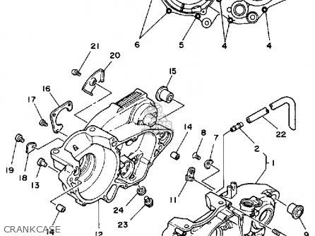 Yamaha It490 1984 (e) Usa Canada parts list partsmanual