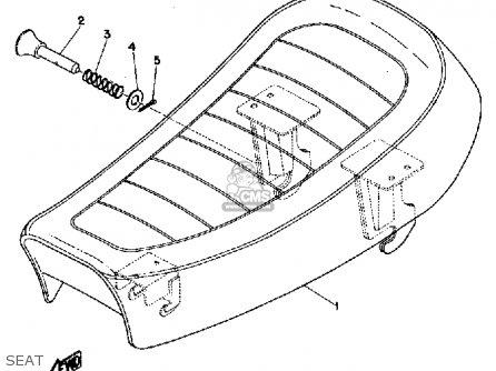 Yamaha Jt1 1971 parts list partsmanual partsfiche