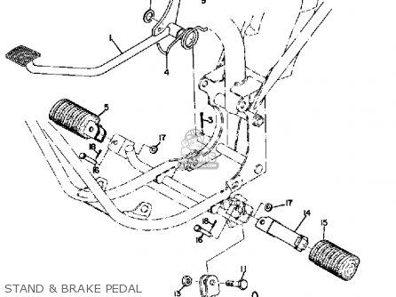 Yamaha Jt1 1971 Usa parts list partsmanual partsfiche