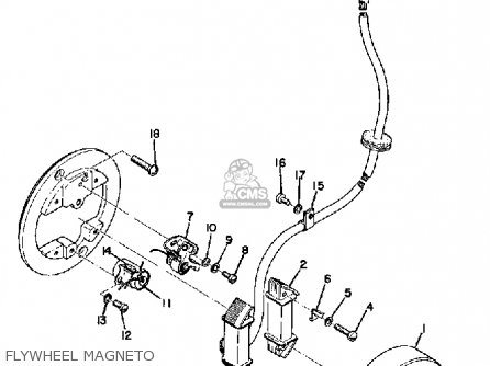 Yamaha JT2 1972 USA parts lists and schematics