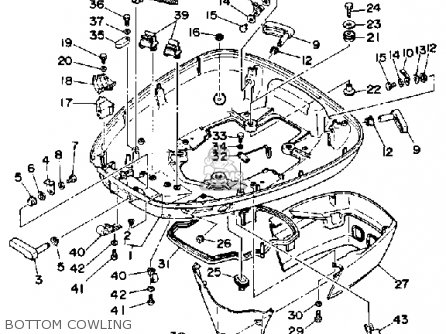 Yamaha L150/200 Etg 1988 parts list partsmanual partsfiche