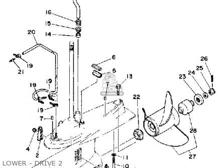 Yamaha L150/200 Etg 1988 parts list partsmanual partsfiche