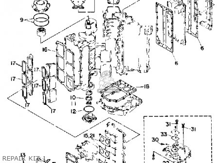 Yamaha L150/200 ETG 1988 parts lists and schematics