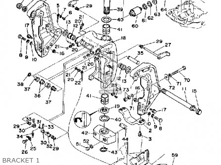 Yamaha L150/l200 Etf 1989 parts list partsmanual partsfiche