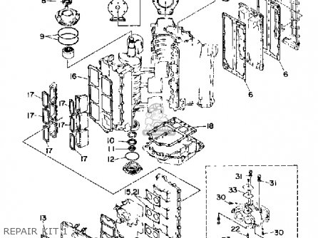 Yamaha L150/L200 ETF 1989 parts lists and schematics