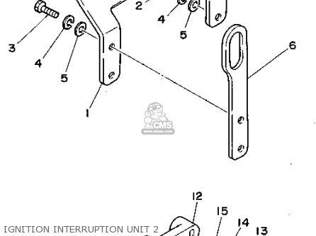 Yamaha L4 3.0 1990 ENGINE parts lists and schematics