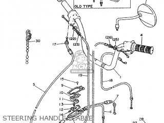 Yamaha LB50 1990 3WH1 FRANCE 203WH-351F2 parts lists and