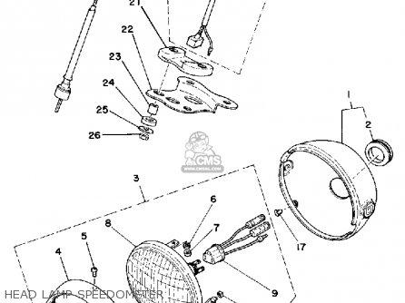 Yamaha Lb50pf 1978/1979 parts list partsmanual partsfiche