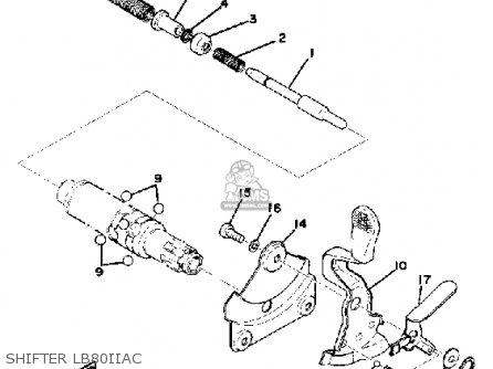 Yamaha LB80-2AC 1976-1978 parts lists and schematics