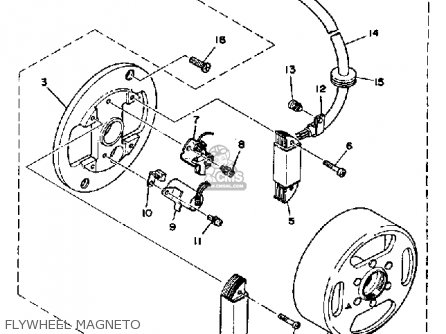 Yamaha Lb80-2ad 1976-1978 parts list partsmanual partsfiche