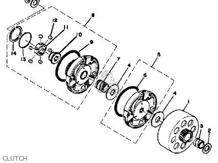 Yamaha LB80-2AE 1976-1978 USA parts lists and schematics