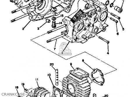 Yamaha Lb80-2ae 1976-1978 Usa parts list partsmanual