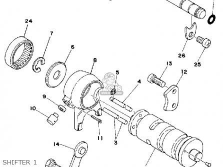 Yamaha Lb80-3d 1977 parts list partsmanual partsfiche