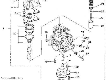 Yamaha LC50G 1980 parts lists and schematics