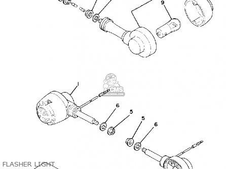 Yamaha Lc50g 1980 parts list partsmanual partsfiche