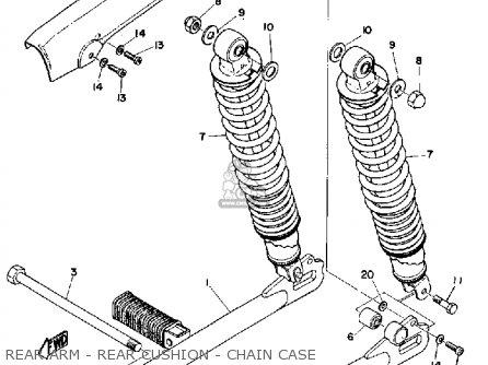 Yamaha Ls2 1972 parts list partsmanual partsfiche
