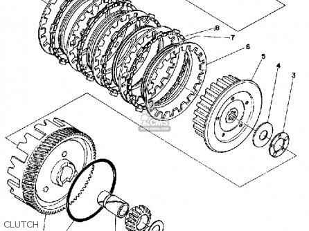 Yamaha Ls2 1972 Usa parts list partsmanual partsfiche