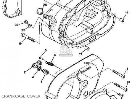 Yamaha Lt2 1972/1973 parts list partsmanual partsfiche