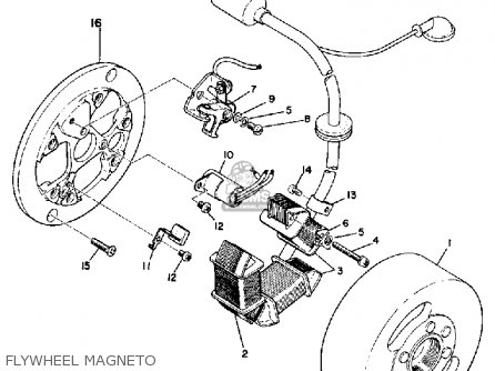 Yamaha Lt2 1972/1973 parts list partsmanual partsfiche